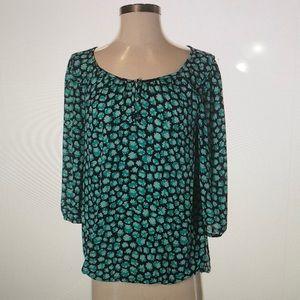 Ann Taylor LOFT 3/4 Sleeve Blouse XS